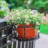 DJLOOKK Soporte de Planta Decorativo de Granja, Estante de Flores para Colgar en...