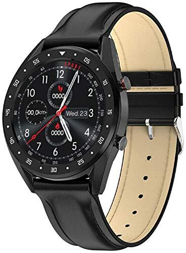 hwbq Bluetooth IP68 - Reloj de fitness impermeable con contador de calorías y podómetro, monitor de actividad, pantalla táctil