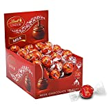25.4 oz., 60 Count of Lindt LINDOR Milk Chocolate Truffles with Smooth, Melting Truffle Center Classic milk chocolate shell surrounds a luxuriously smooth, melting truffle center Lindt LINDOR truffles are perfect as gifts or for making any moment spe...