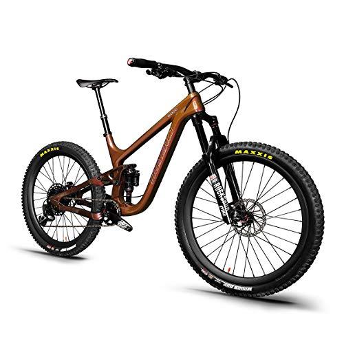 29er Enduro Mountain Bike P9 Full Suspension MTB Bike with Sram Eagle GX Groupset Rainbow Painting