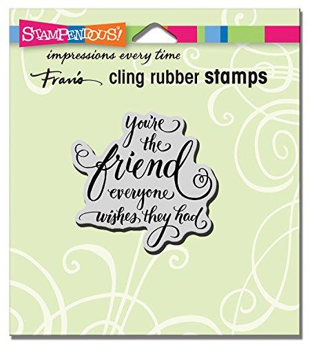 Stampendous zelf rubberen stempel Everyone Wishes