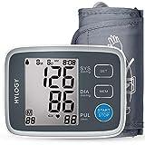 HYLOGY Misuratore Pressione da Braccio Digitale, Sfigmomanometro da Braccio Pressione Arteriosa, Grande Schermo LCD, 2 * 90 Posizioni di Memoria...