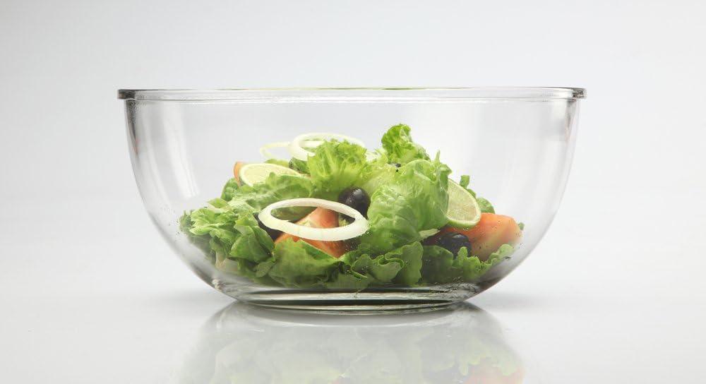 2L GLASSLOCK MBCB-200, 2L Frischhaltedose aus Glas - Salatsch/üssel Typ