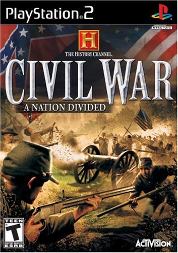 History Channel: Civil War: A Nation Divided - PlayStation 2
