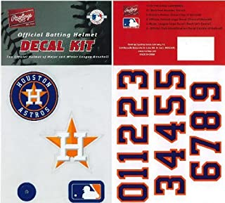 Rawlings Authentic MLB Official Batting Helmet Decal Kit from