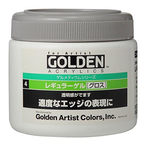 ターナー色彩『E.ゴールデンアクリリックスレギュラーゲルグロス』