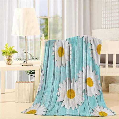 NCH UWDF Floraldhe Lemon Throws BedBlankets Mullidas y acogedoras Manta de Felpa Polar para Cuna, Cochecito, Viajes, Exteriores, Decorativas, Hojas Verdes Naturales de Furit (50'x 40' in)