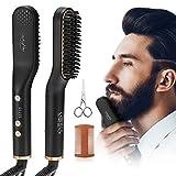 Alisador de Barba, Luckyfine - Plancha alisadora para barba
