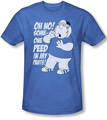 Family Guy - Männer in meinen Hosen-T-Shirt, XX-Large, Royal Blue