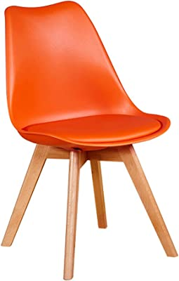Amazon.com: LJFYXZ Sillas de comedor silla de cocina moderna ...