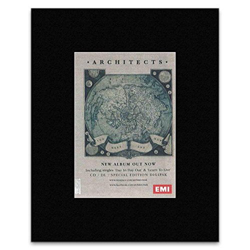 ARCHITECTS - The Here And Now Matted Mini Poster - 13.5x10cm