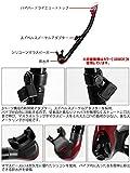 Tusa SP0101 Hyper-Dry Elite II Snorkel, Silicone Black