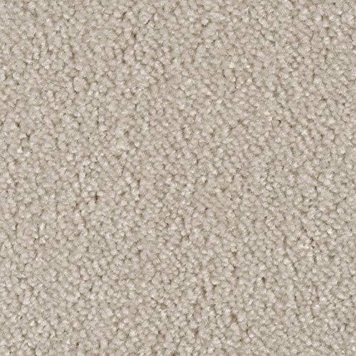 Frisé-Teppichboden Meliert in Beige/Sand | weiche & strapazierfähige Auslegeware | zugeschnittener Bodenbelag | Teppich Langflor in der Größe 100x400 cm | gemütliche Teppichfliesen