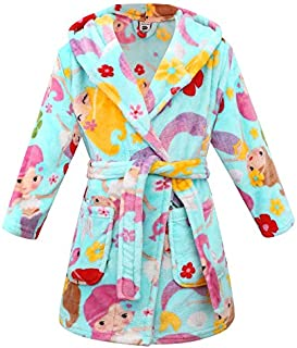 Image of Cozy Soft Mermaid Robe for Girls and Toddlers - See More Mermaid Designs