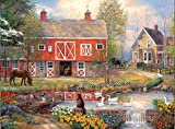 Escapes: Reflections on Country Living Puzzles for Adults, 500 Piece Kids Jigsaw Puzzles Game Toys Gift for Children Boys and Girls, 15' x 20'