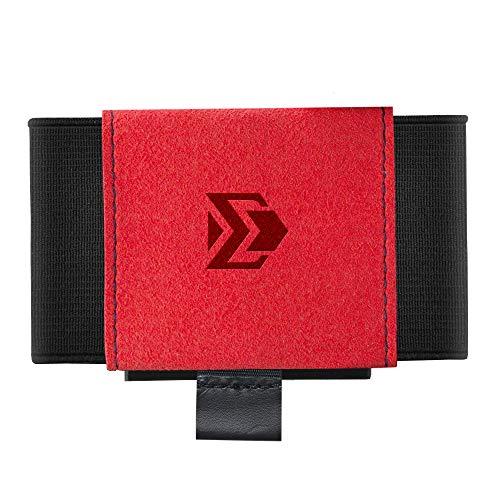 Minimalist Slim Wallet For Men Women - Elastic Thin Front Pocket Credit Card Holder (Manas)
