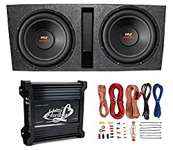 15 inch subwoofer with box and amp