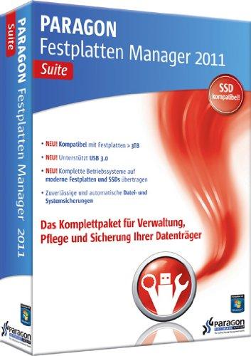 Preisvergleich Produktbild Paragon Festplatten Manager 2011 Suite