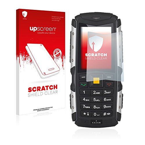 upscreen Schutzfolie kompatibel mit Kazam Life R5 – Kristallklar, Kratzschutz, Anti-Fingerprint