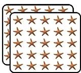 Starfish Sticker for Scrapbooking, Calendars, Arts, Kids DIY Crafts, Album, Bullet Journals 50 Pack
