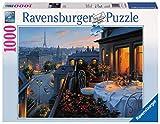Ravensburger 19410 Balcone a Parigi, Puzzle 1000 Pezzi, Puzzle per Adulti