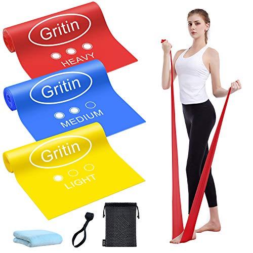 cintas elasticas fitness resistencia Marca Gritin