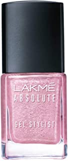 Lakmé Absolute Gel Stylist Nail Color, Pink Diamond, 12 ml