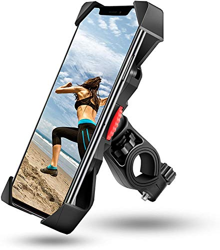 visnfa Bike Phone Mount Anti Sha...