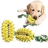 LucaSng Juguete de Cepillo de Dientes para Perro, Forma de Cactus con Cuerda de algodón, Juguete de Limpieza de Dientes de Perro, Cuerda de Perro Juguete para Perros pequeños