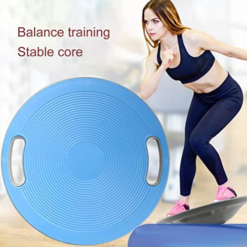Halsey99 Balanceplatte, 40 cm Balance Board Rutschhemmende Fitness Balance Platte stehend Schreibtisch Fitnessausrüstung