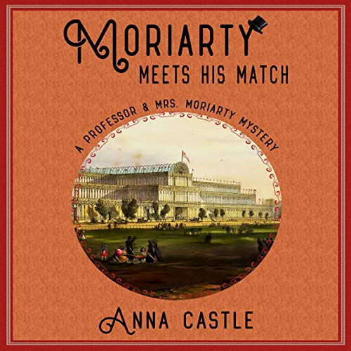 Moriarty Meets His Match audiobook cover art