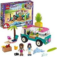 LEGO Friends Juice Truck LEGO Truck 41397 Building Kit; Kids Food Truck Featuring LEGO Friends Emma Mini-Doll Figure