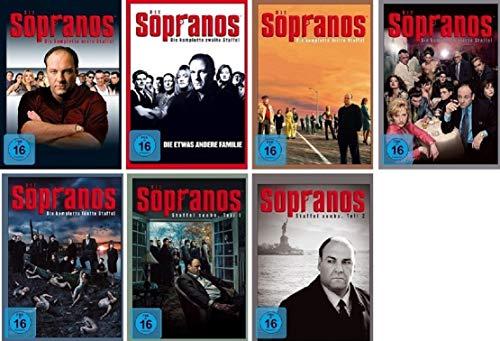 Die Sopranos Staffel 1-6 (1+2+3+4+5+6.1+6.2) Die komplette Serie [DVD Set]