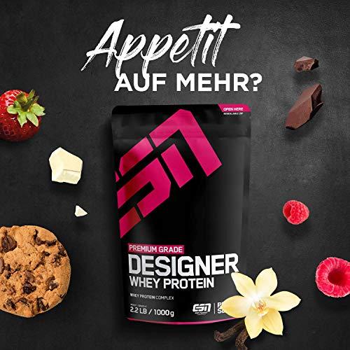 ESN Designer Whey Protein, Pro Series, Vanilla, 1er Pack (1 x 1000g Beutel) - 7