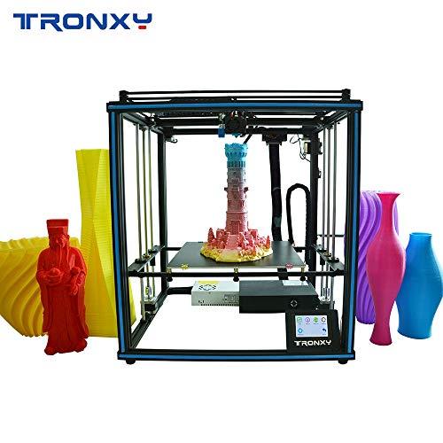 Entweg Prise en Charge de l'imprimante 3D Mise à Niveau Automatique Reprendre l'impression Filament Run Out Detection Taille du bâtiment 400 * 400 * 400mm avec écran Tactile à lit Chauffant