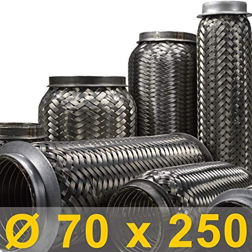 2,5 Flexrohr Flexst/ück 63,5mm x 150mm UNIVERSAL Auspuff
