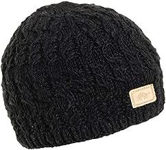 Turtle Fur Nepal Women's Mika Hand Knit Wool Beanie, Black
