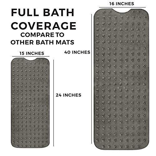 ENKOSI Bath Mat - Large Non Slip Bathtub