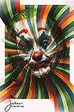 yaofale Sin Marco Estilo Dark Joker Movie Art Print Silk Poster para la decoración de su hogar 40x60cm