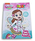 Dreamtivity Butterbean's Cafe ''Fairy Pretty Painting'' Paint with Water Book - Features 12 Paintings