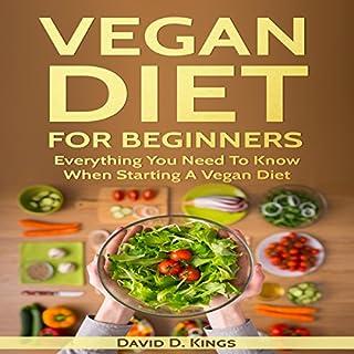 Vegan Diet for Beginners audiobook cover art