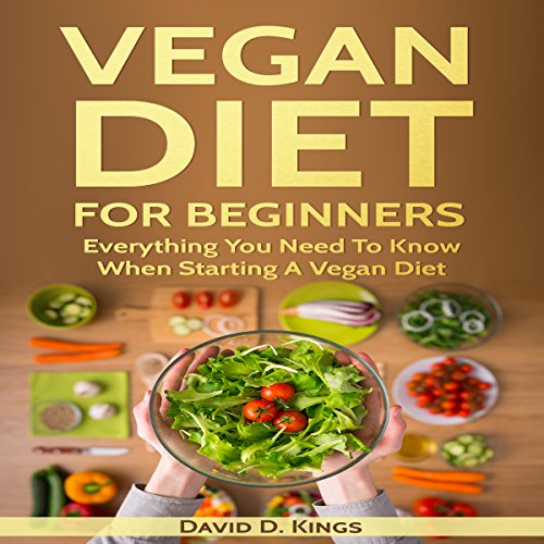 Vegan Diet for Beginners audiobook cover art