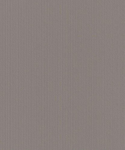 Vliestapete Home Style 447743 kieselgrau Uni leichte Struktur