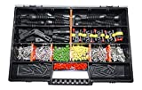 AMP Superseal 2-polig 0,35-1,5² Sortimentskasten Stecker KFZ Motorrad LKW
