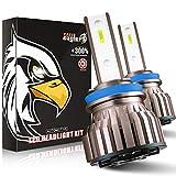 EASY EAGLE Ampoule H11 LED, 10800LM 6000K Phares pour Voiture et Moto, 2 Pièces