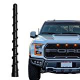 KSaAuto Spiral Rubber Antenna fits for Ford F150 2009-2021 | 6.5 Inches Car Wash Proof Antenna Mast Replacement | Designed for Optimized FM/AM Reception