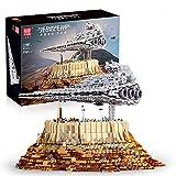 Hedi Super Star Zdestructor Jedha City, Mould King 21007, UCS Imperial Destroyer, bloques de montaje compatibles con Lego Star Wars