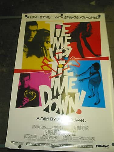TIE ME UP DOWN ORIG. POSTER MOVIE ONE-SHEET 4 years warranty U.S. PED Cheap mail order shopping