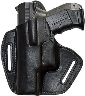 Noir VlaMiTex S1 Holster d/épaule en cuir pour pistolet Walther P99 PPQ M2