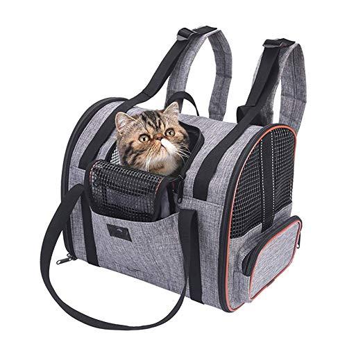 Willlly Mochila para Gato Pequeño Plegable Lavable Bolso Chic Plegable para Avión...